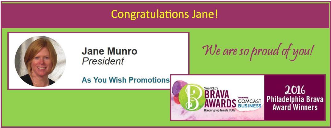 Janes Brava Award Banner