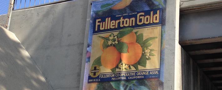Fullerton Gold Banner