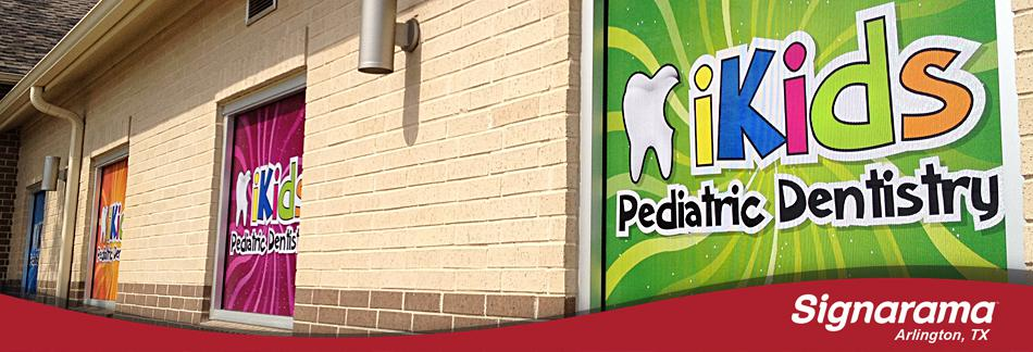 iKids Dentistry Window Graphics