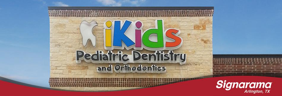 iKids Dentistry Channel Letters