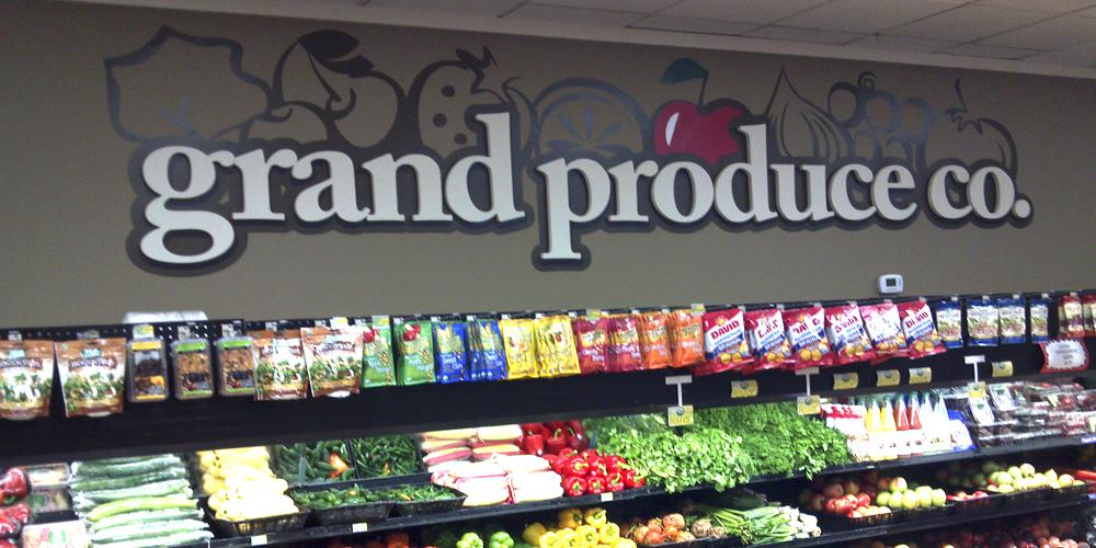 Grand Foods Wall Graphic