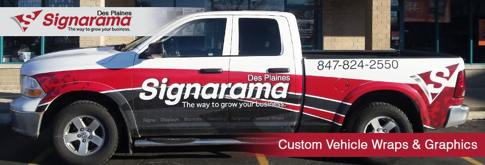 Custom Vehicle Wraps  Graphics