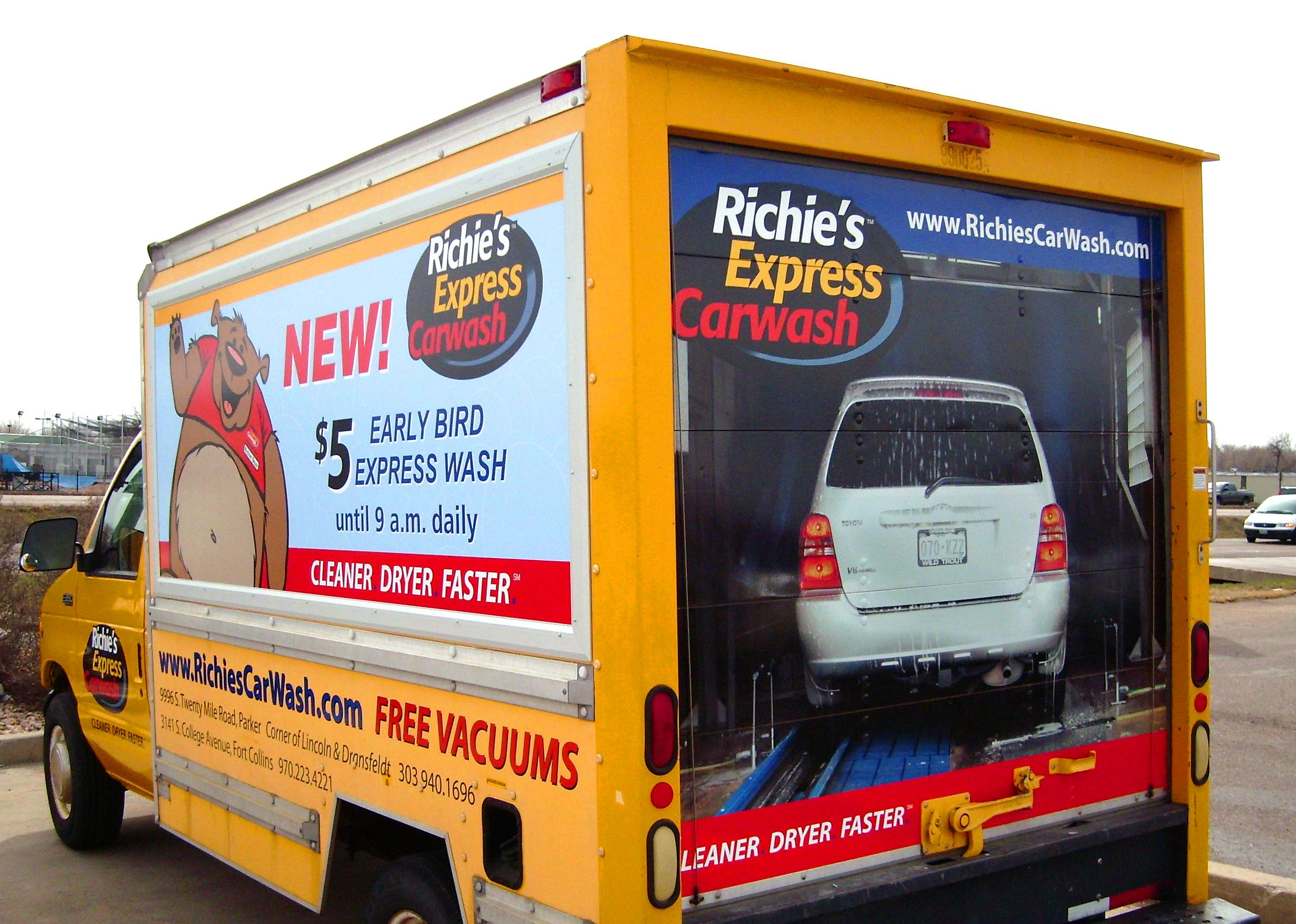 Door Wraps Partial Vehicle Wraps Signarama Fort Collins