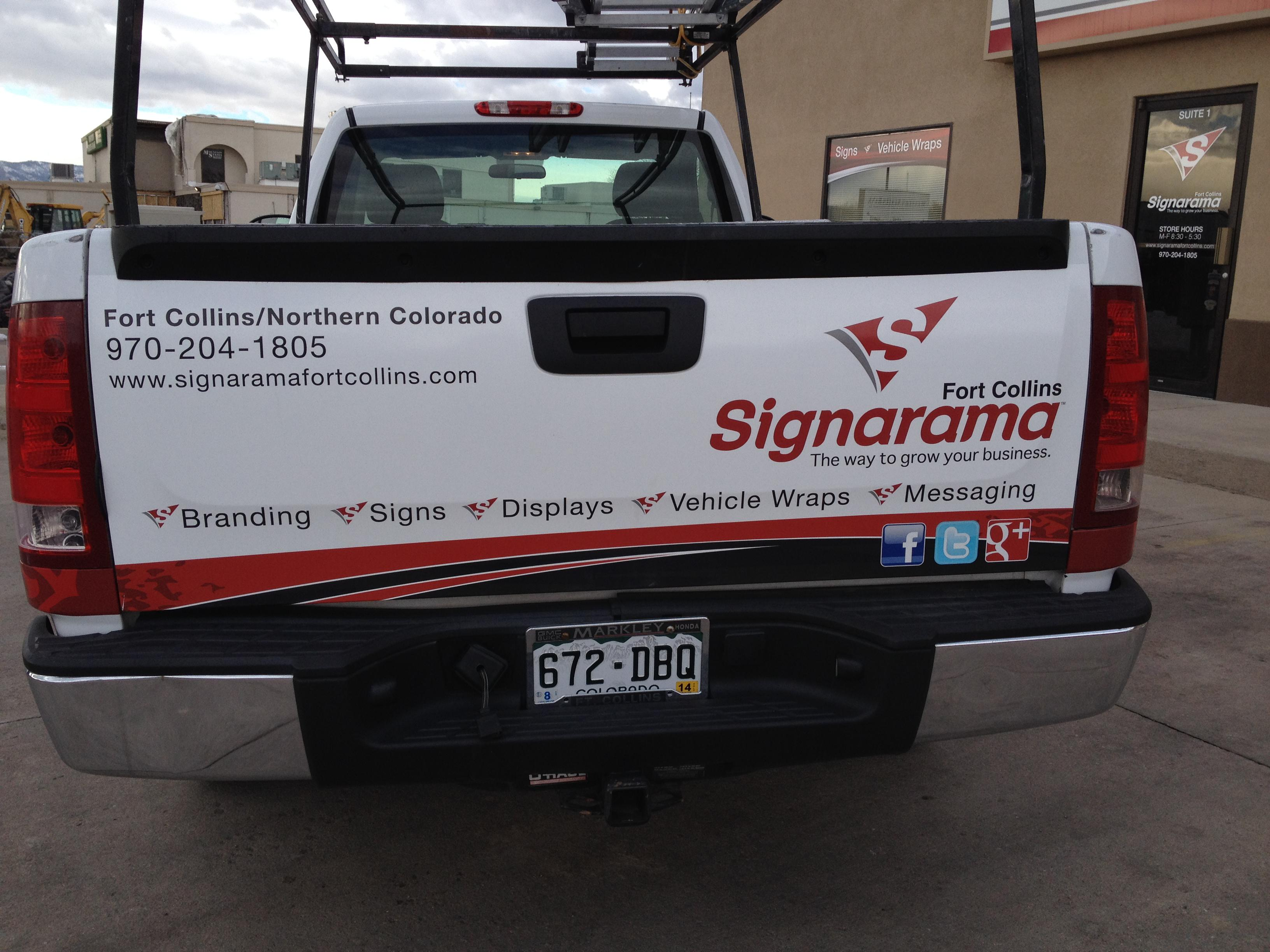 Partial Truck Wrap on Pickup Tailgate.jpg