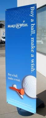 Outdoor Banner & Stand