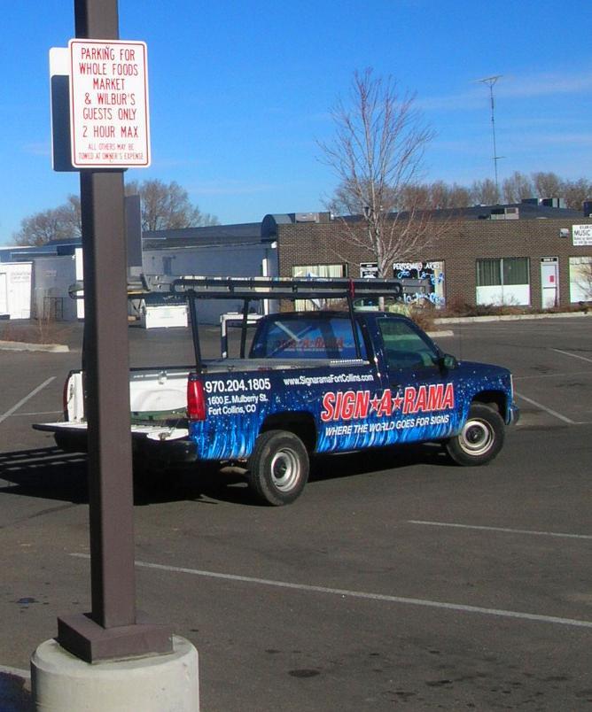 Parking And Traffic Signs Custom Amp Stock Signarama