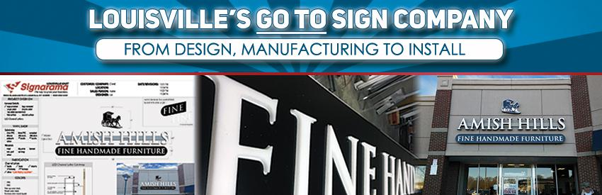 Commercial Sign Company Louisville KY