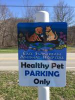Signarama Monroeville_Aluminum Parking Signs with Print Vinyl Graphics