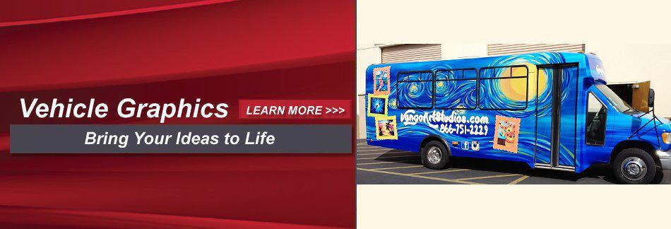 Vehicle Graphics - Mobile Advertising with Vehicle Wraps