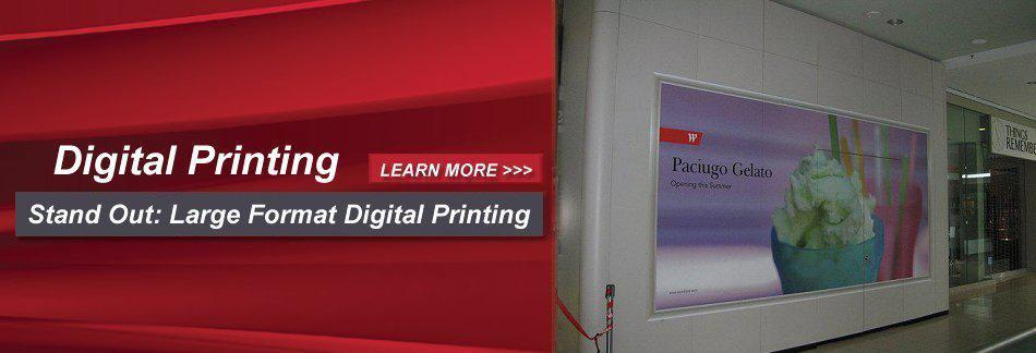 Digital Printing - Stand Out Large Format Digital Printing