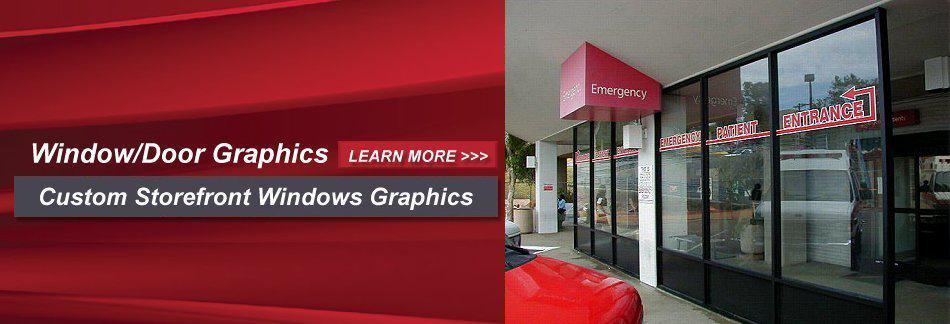 WindowDoor Graphics - Custom Storefront Window Graphics
