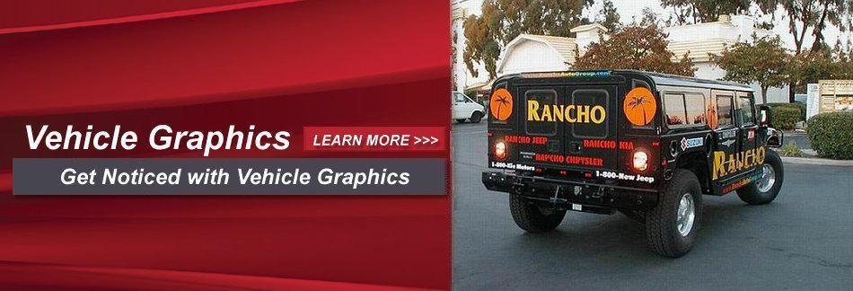 Vehicle Graphics - Get Noticed with Vehicle Graphics