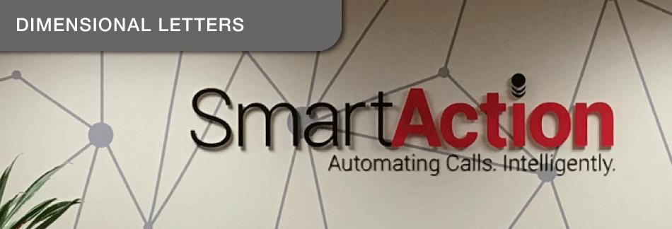 Smart Action Dimensional Letters