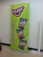 Rollup banner for a local food wholesaler