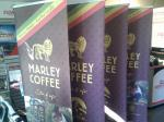 Rollup banners for a local coffee roaster