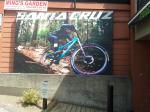Billboard mural for our favourite North Van bike shop