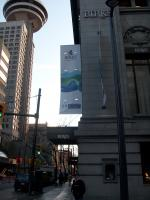 Projecting Banner