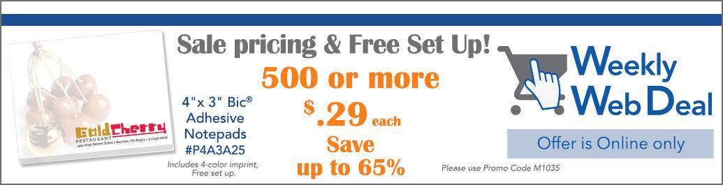 Weekly Web Deal 10-7-15