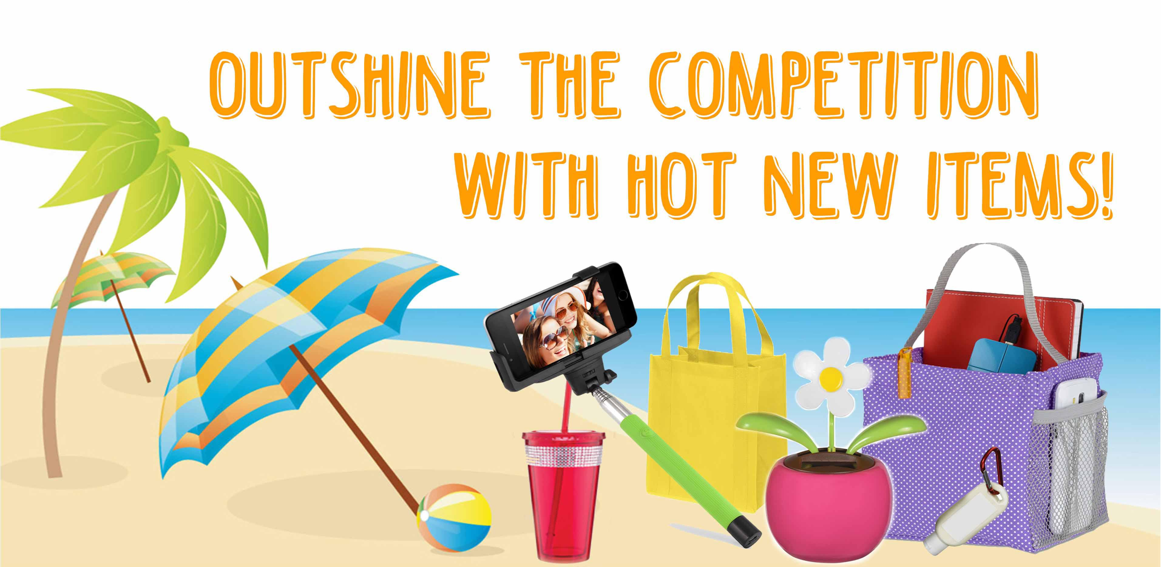 Promotional Products in Tampa FL - Marketing Products in Orlando FL - Outshine the Competition with New Items