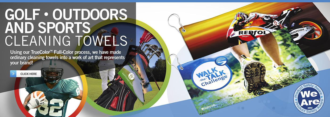 Golf and Sports Banner