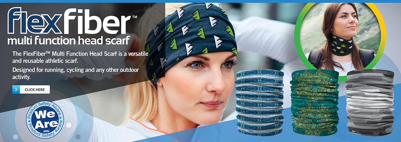 FlexFiber Multi Function Head Scarf