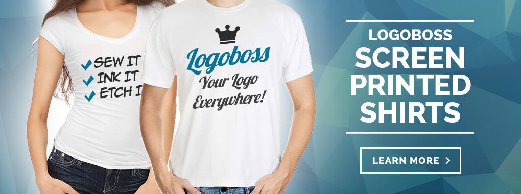 LogoBoss Screen Printed Shirts - Learn More