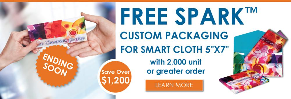 Smart Cloth and Spark Promotion