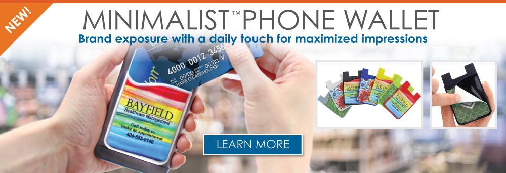 Minimalist Phone Wallet