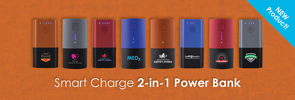 NEW Smart Charge 2-in-1 Power Bank 2016