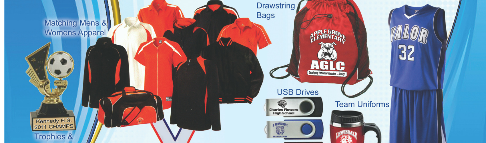 School Promotional items custom imprinted