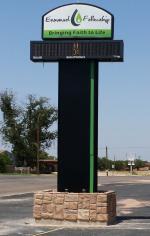 Front Range Signarama - Outdoor Illuminated Cabinet & Electronic Message Center