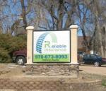 Front Range Signarama - Outdoor Custom Monument Sign