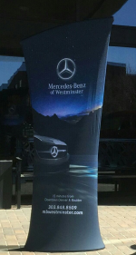 Front Range Signarama - Full Color Stretch Fabric Banner System