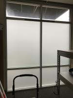 Frosted Vinyl Windows for The Ups Store