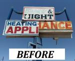 Day and Night Mechanical - Cabinet Pole Sign - Before.jpg