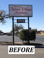 Mannys Italian Village - Outdoor Cabinet Sign -  BEFORE.png