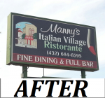 Mannys Italian Village - Outdoor Illuminated Cabinet Sign -  AFTER.png