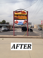 PLANKS BBQ MEAT MARKET - Two Illuminated Cabinet Signs & Full Color LED Electronic Message Center -  AFTER.png
