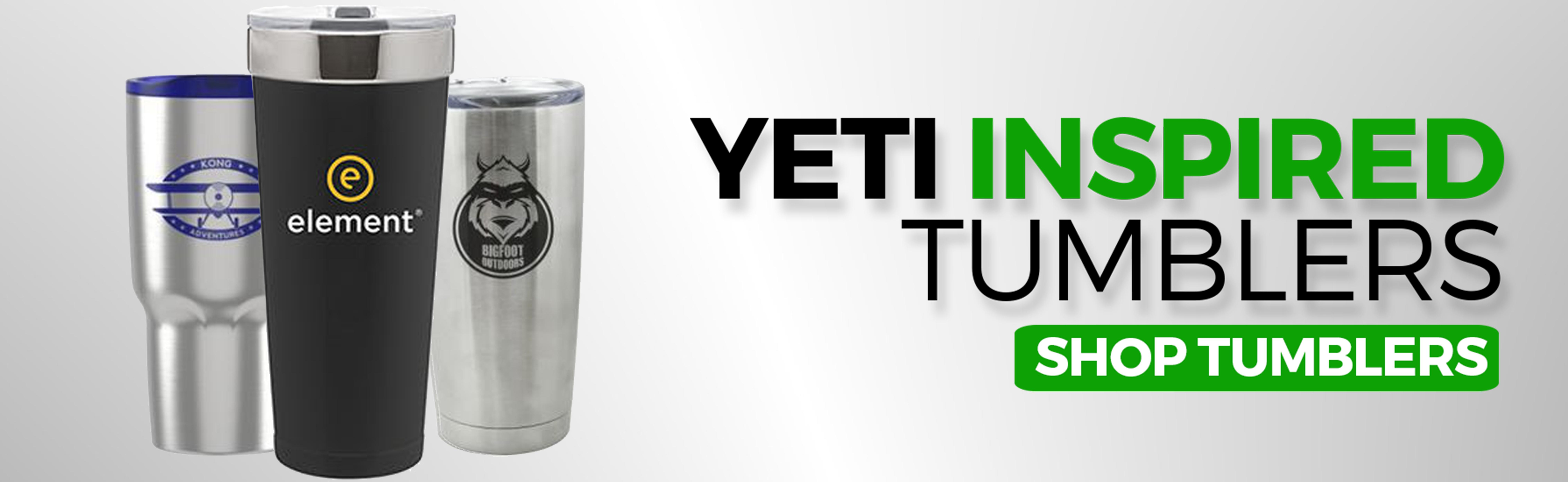 Yeti Inspired Tumblers