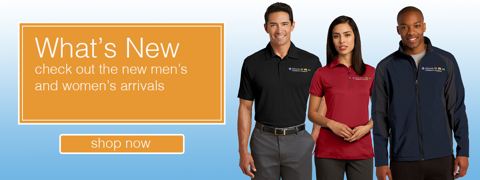 Whats New - check out the new mens and womens arrivals