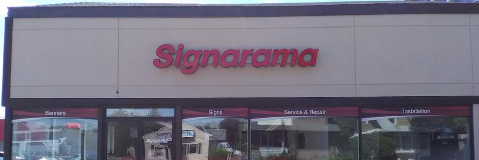 Signarama Store Front Day - Channel Letters